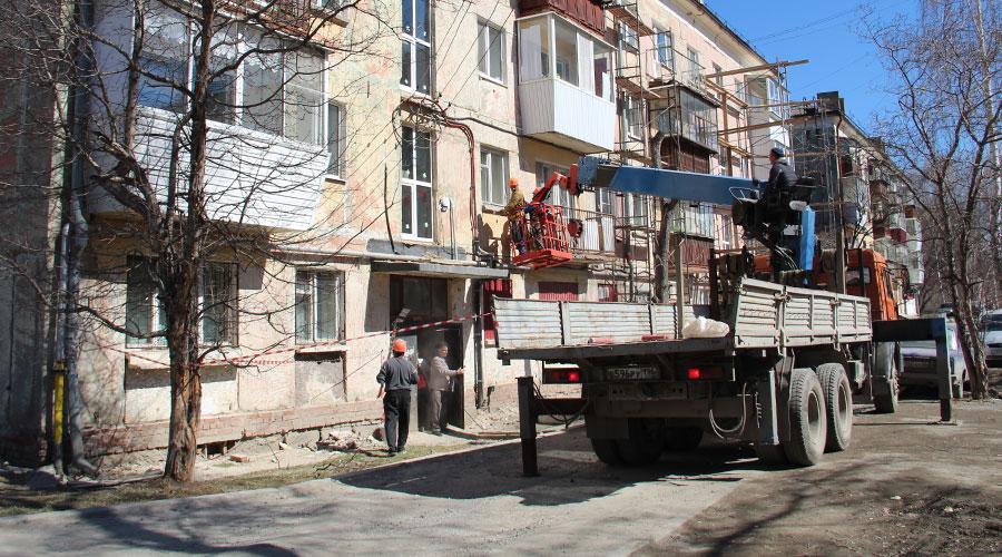В доме на улице Карла Маркса, 7, отремонтированы водопроводные и канализационные сети